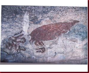 Lukisan Anoa di Gua Sumpangbita