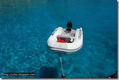 Il tender - Lampedusa