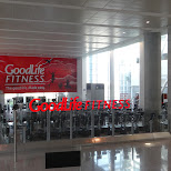 Goodlife Fitness at Pearson Airport in Toronto, Ontario, Canada