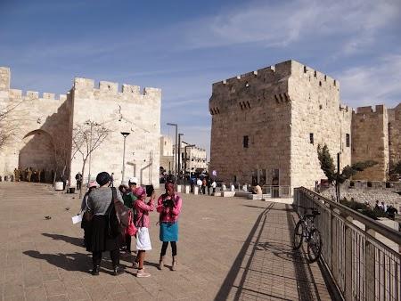 Obiective turistice Ierusalim: Poarta Jaffa