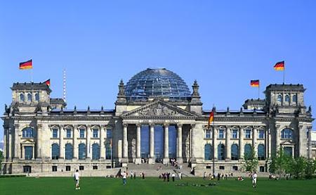 Imagini Germania: Reichstag Berlin
