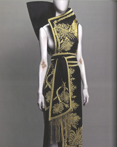 The exotic world, and specifically Japan, had a real impact on McQueen's designs.