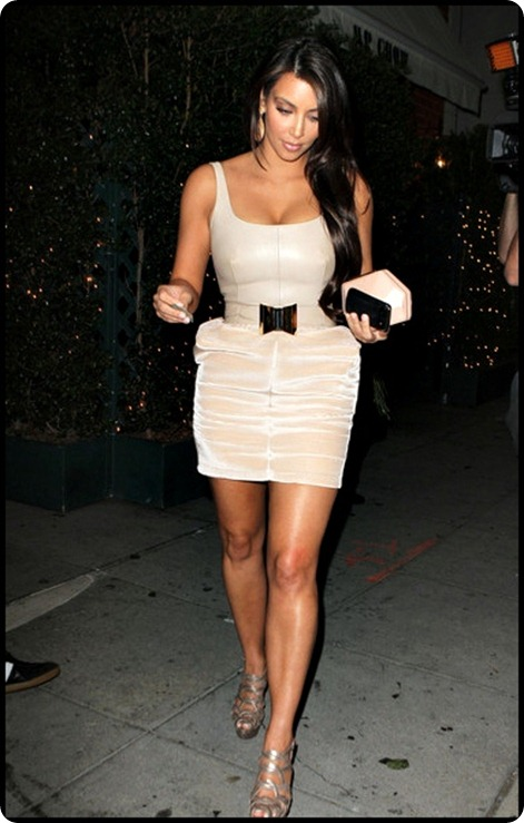 Kim Kardashian Kim Kardashian Out Los Angeles FBh_kTACimLl
