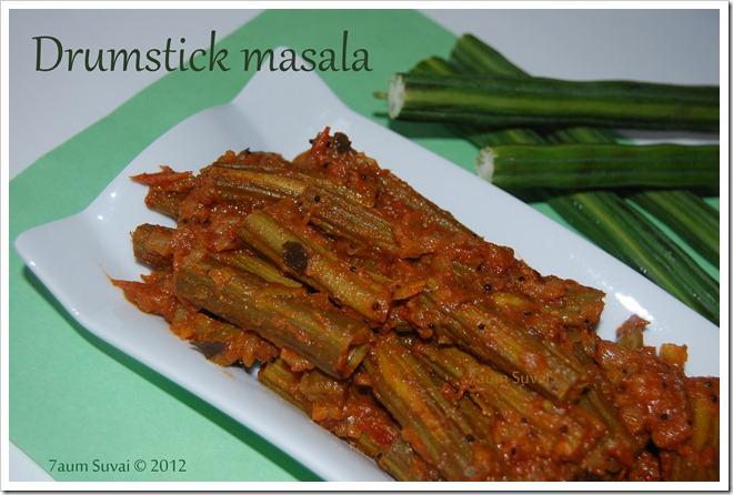 drumstick masala / முருங்கைக்காய் மசாலா