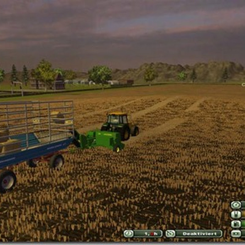 Farming simulator 2013 - John Deere 348 with centrifugal v 1
