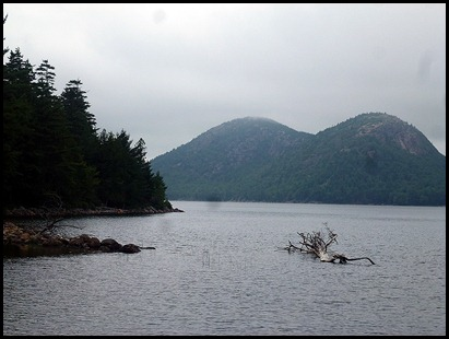 20 - Jordan Pond and North and South Bubble Mountains