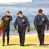 Les surfeurs se résignent non sans mal