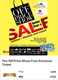 The Off Price Show tickets