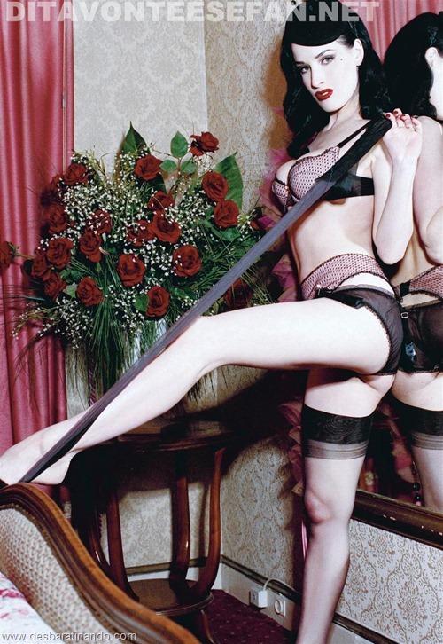 dita von teese linda sensual sexy sedutora desbaratinando (130)