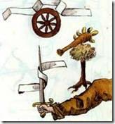 """Ilustração do """"Livro perdido de Nostradamus""""."""