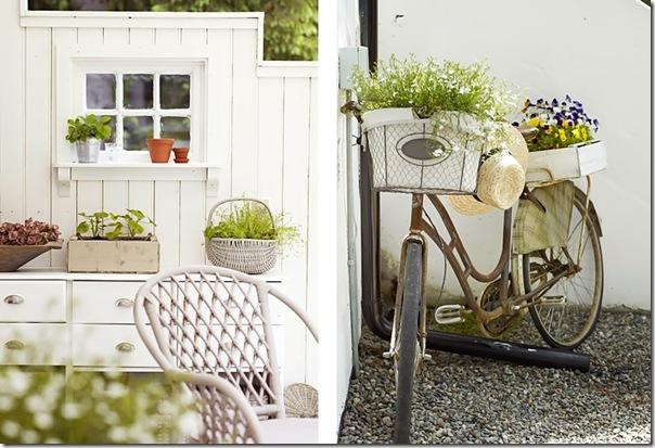 case e interni - casa Norvegia - Scandinavia -  shabby chic - bianco (4)