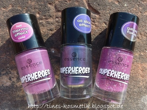 essence Superheroes Swatches 1