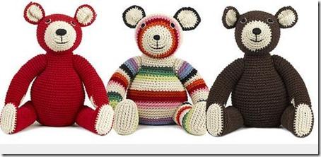 Doudous crochet ours