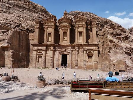 Obiective turistice Iordania: Manastirea