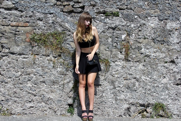 Holly Cassell Summer Goth Fashion Blogger