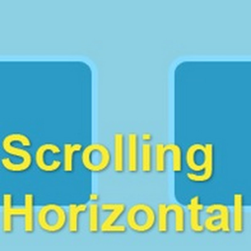Scrolling horizontal sencillo en jQuery
