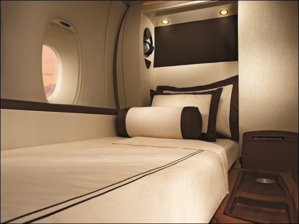 سرير في الطائرة