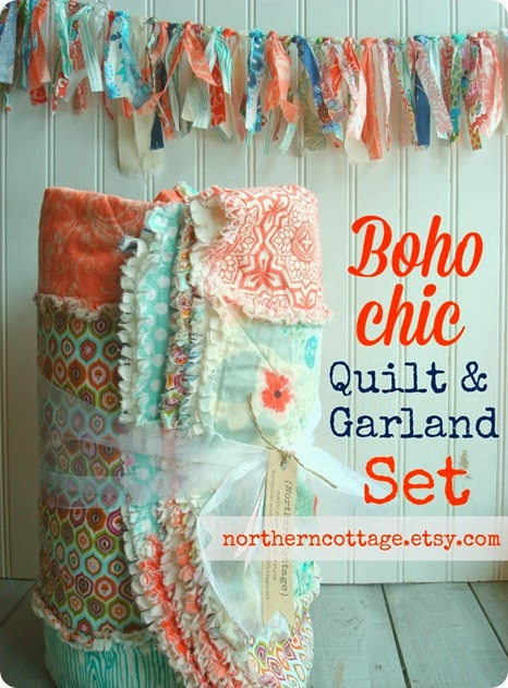 QuiltGarland Set {Northern Cottage}