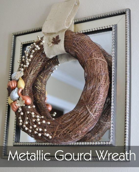 MetallicGourdWreath