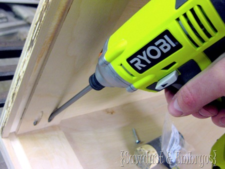 RYOBI Cordless Drill and Impact Driver Kit {Sawdust and Embryos}