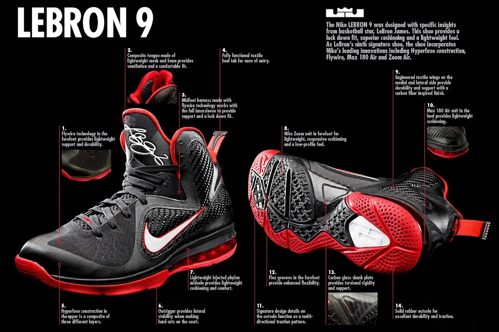20179f9453e7c Nike LeBron 9 Officially Unveiled Coming to Nike iD Soon ...