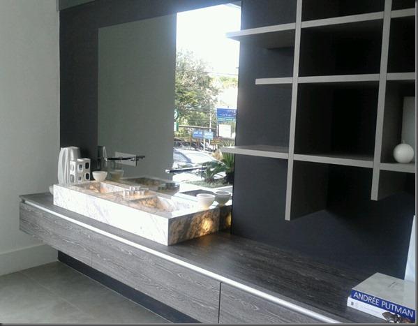 Lavabo com slimstone everest colação lúmen - SCA Sorocaba