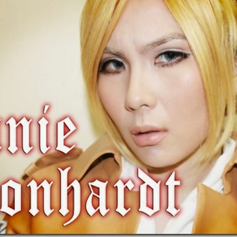 Makeup Tutorial: Annie Leonhardt from Shingeki no Kyojin