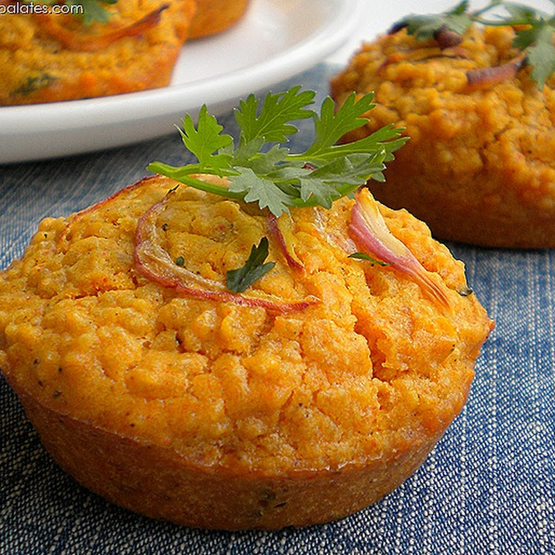 Spicy Couscous Muffins