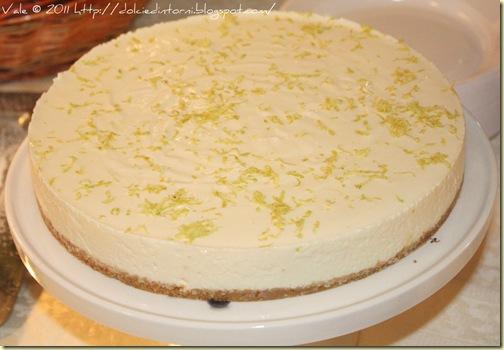 Cheesecake al limone e latte condensato