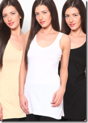Jabong : Buy Women Camisoles at Upto 50% off, Starting at Rs.15