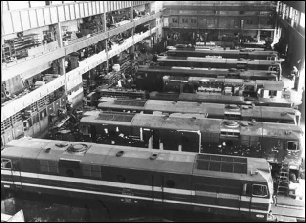 MACOSA.-calle San Vicente Mártir.Nave construcción locomotoras diesel electricas 1900._1965
