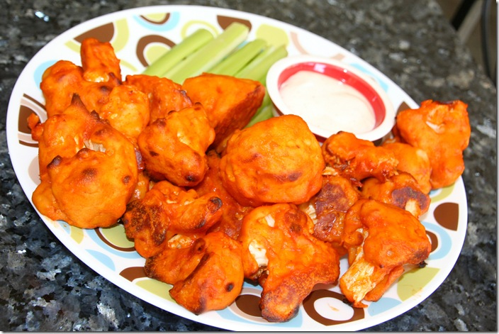 ... Buffalo Cauliflower ~ Baked not Fried ~ Vegetarian Style Buffalo