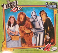 wizard of oz 2012 calendar