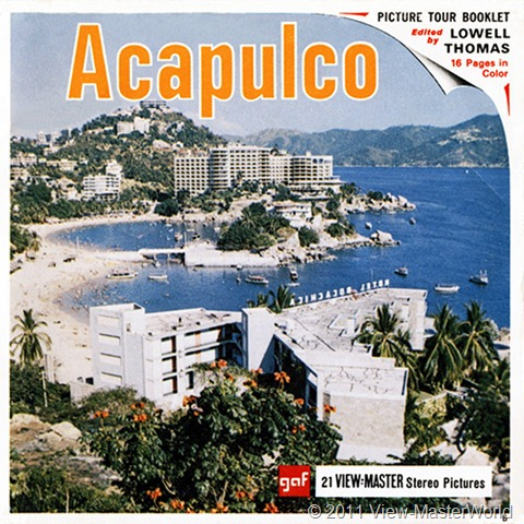 View-Master Acapulco (B003), Packet Cover