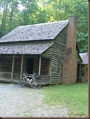 The Henry Whitehead cabin. Henery was famous for his rambles on his Novara Safari