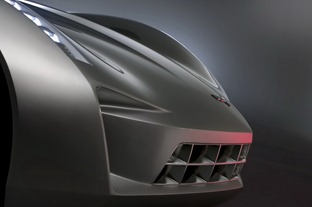 Stingray Concept Headlamps and Grill - Transformers II 2009