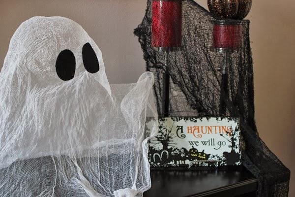 DIY Floating Ghost, Halloween Tutorial