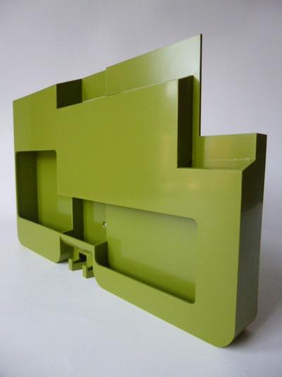 Platignum wall organizer, olive green