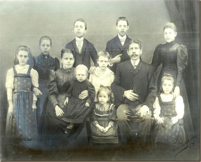 Zeuner family circa 1885