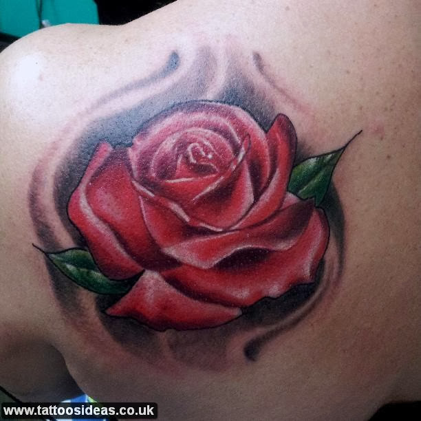 Rose tattoos meanings and pictures tattoos ideas for Red rose tattoo meaning