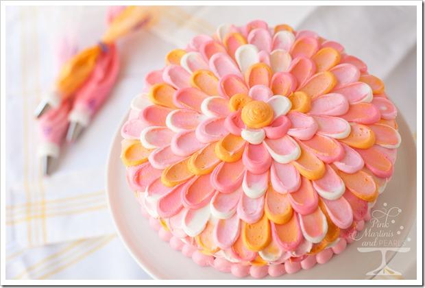 Pretty Pink Petal Cake Wilton 7561