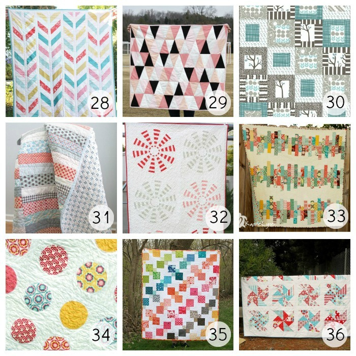 28 Baby Herringbone Quilt by Craftiness is not Optional  Herringbone  Free Baby Quilt Patterns Modern
