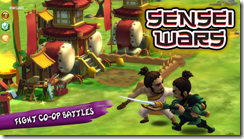 يمكنك التحاف مع أصدقائك لتكوين حلف قوى فى لعبة حروب معلمى الساموراى Sensei Wars للأندرويد