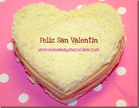 Sandwich Mixto - San Valentin