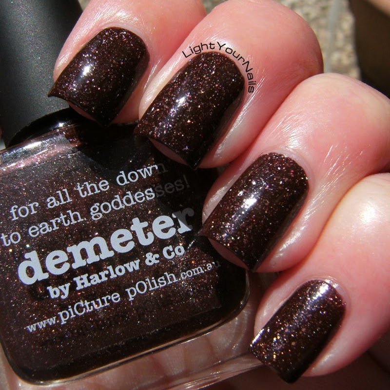 The Rainbow Ladies 2.0: brown - Picture Polish Demeter