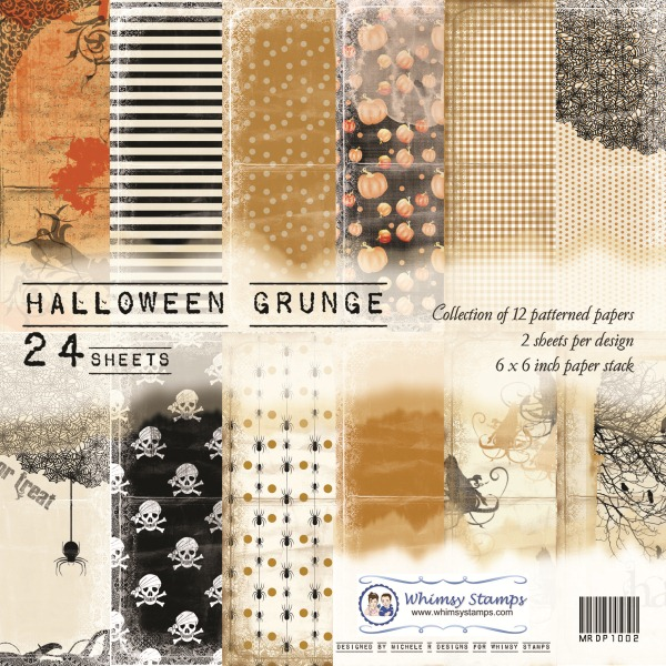 Halloween Grunge Front Sheet