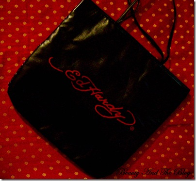 Ed Hardy Love Kills Slowly Sequin Tote From Vogue Magnet