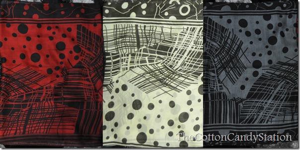 shawl abstract