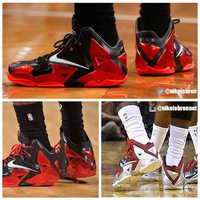 2014 01 lebron11 redefined 0 Nike LeBron 11 Comparison   Regular GR vs. Redefined PE