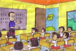 Guru ikut serta dalam membentuk ahklak murid
